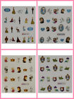 Frozen Nail Art Water Transfer 3D Decal Stickers 4 Designs To Choose From Disney