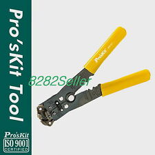 Proskit 8PK-371  Automatic Wire Stripper & Crimper 22-10 AWG Insulated Handles