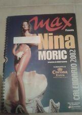 Calendario Nina Moric 2002 Max