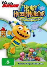 Henry Hugglemonster: Meet the Hugglemonsters * NEW DVD *