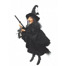 Witches of Pendle - Alice Nutter Witch Flying (Black) 50cm