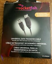 ROCKETFISH UNIVERSAL DATA TRANSFER CABLE RF-UP40650 FOR WINDOWS OR MAC
