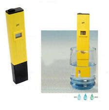 Digital Ph Measurer Gauge Meter Tester Aquarium Pool Water Test Chemistry Swim