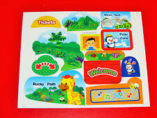 Vtech Go! Go! Smart Animals Zoo Explorers REPLACEMENT STICKER LABEL SHEET - NEW