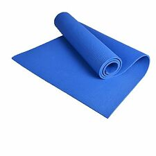 Yoga Mat Non-slip Pad for Exercise Fitness Pad Lose Weight Blue 68*24* EVA