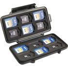 Pelican 0915-015-110 SD, microSD, SDHC Secure Digital Memory Card Case