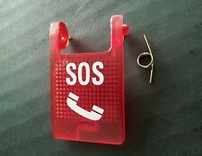 MERCEDES EMERGENCY BUTTON COVER / MERCEDES S.O.S PHONE / DISTRESS FLIP COVER