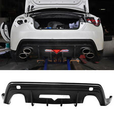 For 13-16 Scion FRS GT86 Type-T Rear Bumper Lip Bodykit PU Poly Urethane