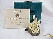 """WDCC Enchanted Castles """"Sleeping Beauty's Castle"""" Ornament in Box with COA"""