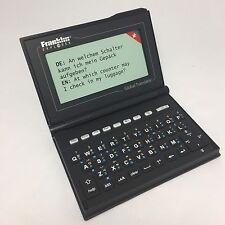 Franklin Explorer M520 Global Translator 15 Sprachen Übersetzer Wörterbuch