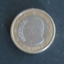1 Euro Münze Spanien Prägejahr 2004 aus Umlauf Sammlerstück!