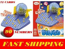 TOYRIFIC BINGO GAME FAMILY FUN 90 NUMBERS CARDS LOTTERY LOADS OF FUN CLASSIC NEW