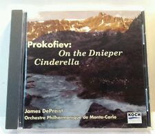 Prokofiev: Cinderella; On the Dnieper (CD, Nov-2001, Koch Classics (cd7042)