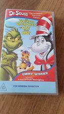 DR. SEUSS THE GRINCH GRINCHES THE CAT IN THE HAT - ANIMATED TV CLASSIC VHS VIDEO