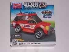 Mega Bloks : Blok Squad Fire Patrol SUV
