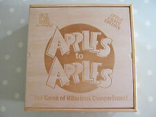APPLES TO APPLES BOARD GAME PARTY CRATE IN A WOODEN BOX BY OUT OF THE BOX