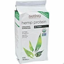 Nutiva Organic Vegan HEMP PROTEIN Hi-Fiber SuperFood Powder - 30 oz (861g) SALE