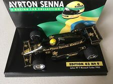 Ayrton Senna Lotus Renault 97T 1985 1:43 LANG Edition 43 No.9 Diecast Model Car