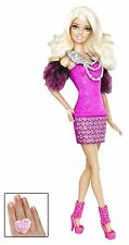 Barbie fashionistas barbie rose poupée avec child's ring-X2272-new nrfb