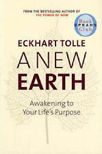 A New Earth Eckhart Tolle Paperback 2005 Very Good Condition