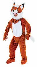 FANCY DRESS FOX WITH BIG HEAD MR FOX COSTUME AC452