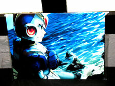 "Nintendo Nes Gamecube MEGAMAN  ROCKMAN Decor Wall  Poster 8.5""x11"" Game Room  #3"