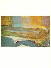 "1969 Vintage BONNARD ""NUDE IN THE BATH"" COLOR offset Lithograph"