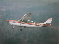 DOCUMENT 1 PAGE RECTO/VERSO SOLOY TURBO-PROP CESSNA 207 FEATURES & SYSTEMS