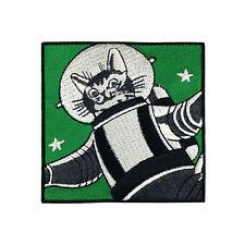 Funny Astronaut Cat Patch Cute Space Cat Astro Cat Patch Iron On Patches