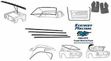 Mustang Weatherstrip Kit Fastback1964 1965 1966