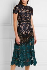 Self-Portrait Prairie Patchwork lace Dress Mini Brand New BNWT UK 8 IT 40