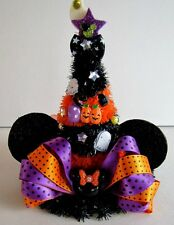 Witch Hat Minnie Mouse Halloween Holiday Home Office Classroom Table Desk Decor