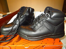 New. ladies WORX black leather steel toe boots Red Wing Shoes  sz 8 W & mens 6 W
