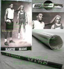 NITF Factory SEALED Nike Poster Michael Jordan Spike Lee Best On Earth Best Mars