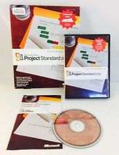 Microsoft Office Project Standard 2003 Academic Complete w/ Manual, COA & Key