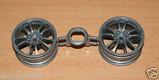 Tamiya 58385 BMW 320si WTCC 2006/TT01, 0446186/10446186 Wheels (1 Pair), NEW
