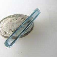 Vietnam blue natural Aquamarine Terminated Crystal Facet Rough Terminated Stone