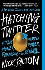 *NEW* Hatching Twitter by Nick Bilton (Paperback) *FREE SHIPPING*