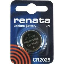 CR2025 Coin Battery Pack Renata 3V / for Watches Cameras Car Keys Torches