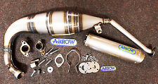 Aprilia RS125 RS 125 2007 - 2011 Arrow Exhaust System - Titanium End Can
