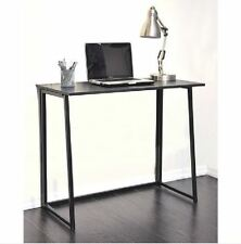 Folding Computer Desk Workstation Laptop Table Writing Student Desk Home Office