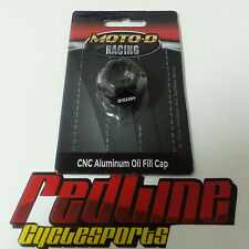 Moto-D Pre drilled oil filler cap for safety wire  BMW S1000RR Cap#4