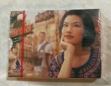 Singapore Airlines Paris  playing cards sealed deck !