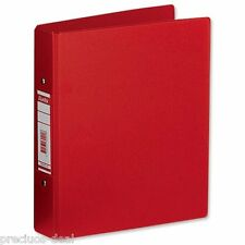 A5 Red Ring Binder For School & Office Essential Documents File Folder