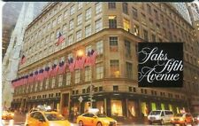 SAKS FIFTH AVENUE GIFT CARD no value NEW YORK BUILDING