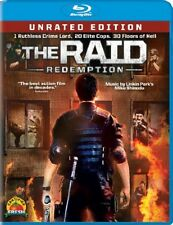 The Raid: Redemption, Blu-ray Disc 2012, New, Free Shipping
