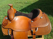 "15.5"" Spur Saddlery Roping Saddle - Made in Texas"