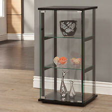 Curio Cabinets With Glass Doors Display Case Shelves Living Room Furniture