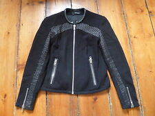 The kooples noir cardigan/veste, 34, 6