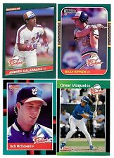 1986 1987 1988 1989 Donruss The Rookies Complete Finish Your Set Pick 10 Cards